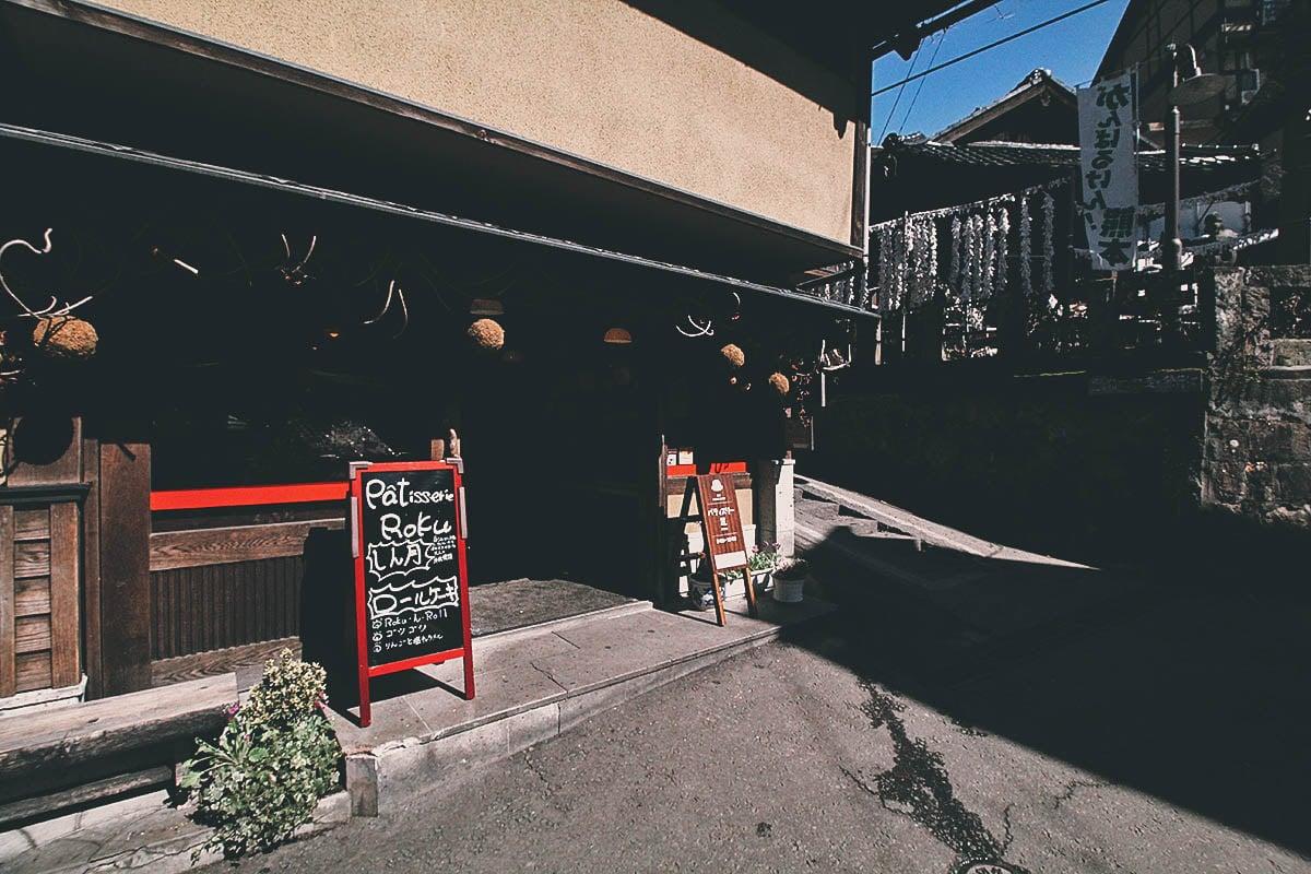 Patisserie Roku: Cream Puffs to Die for in Kurokawa Onsen