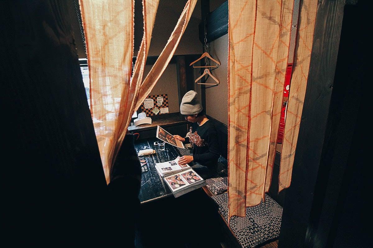 Iromomiji: Where to Have Soba in Kurokawa Onsen, Kumamoto, Japan