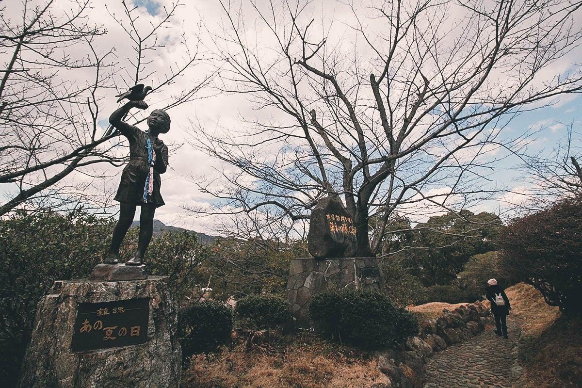 Nagasaki Peace Park and the Atomic Bomb Museum, Nagasaki, Japan