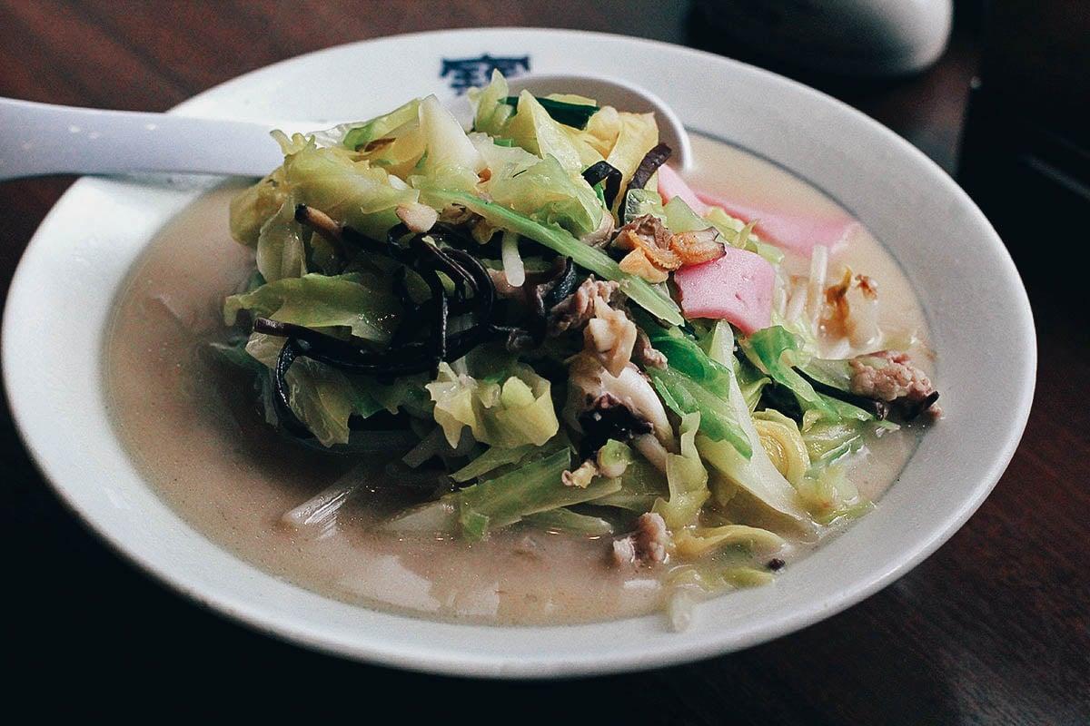 Horaiken Bekkan: Where to Eat Champon in Nagasaki, Japan