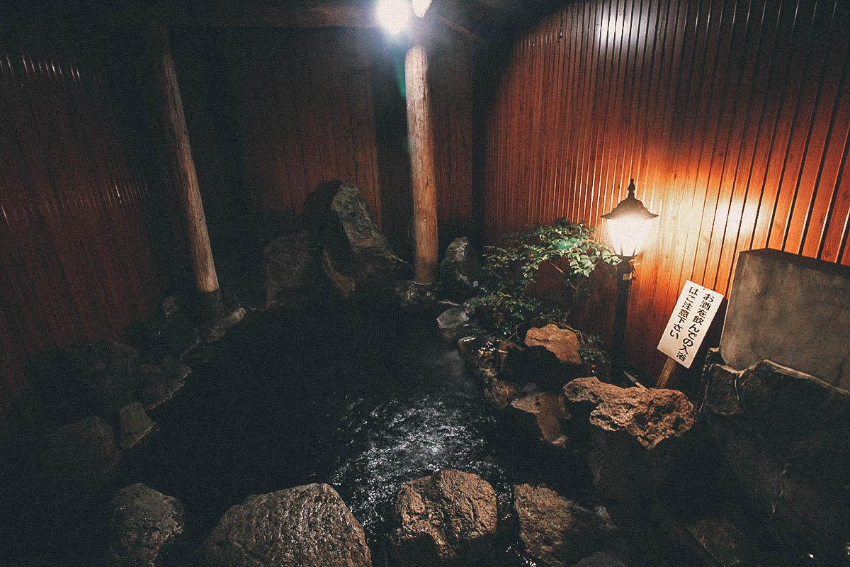 Onsen, Sapporo, Hokkaido, Japan