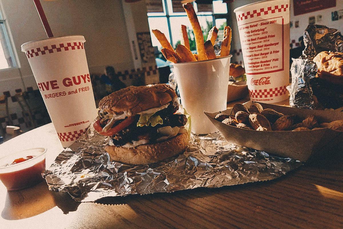 NATIONAL DISH QUEST:  American Hamburgers