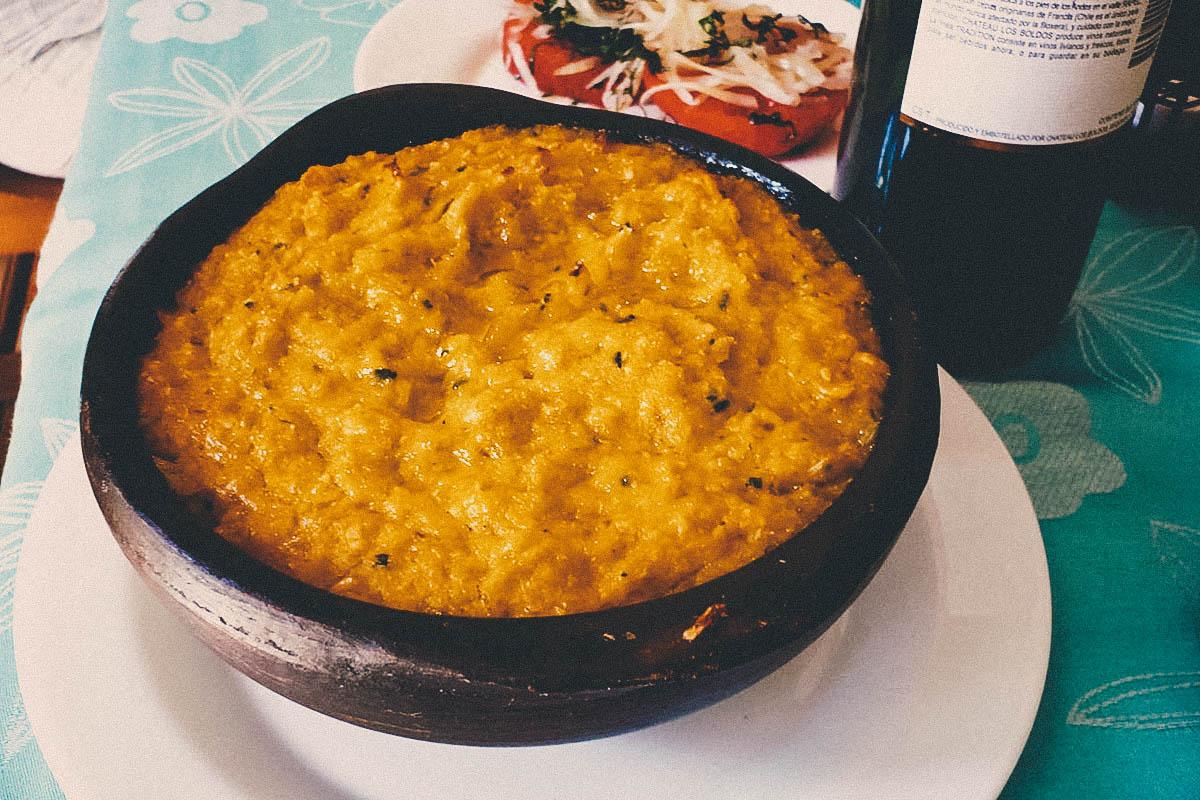 NATIONAL DISH QUEST:  Pastel de Choclo