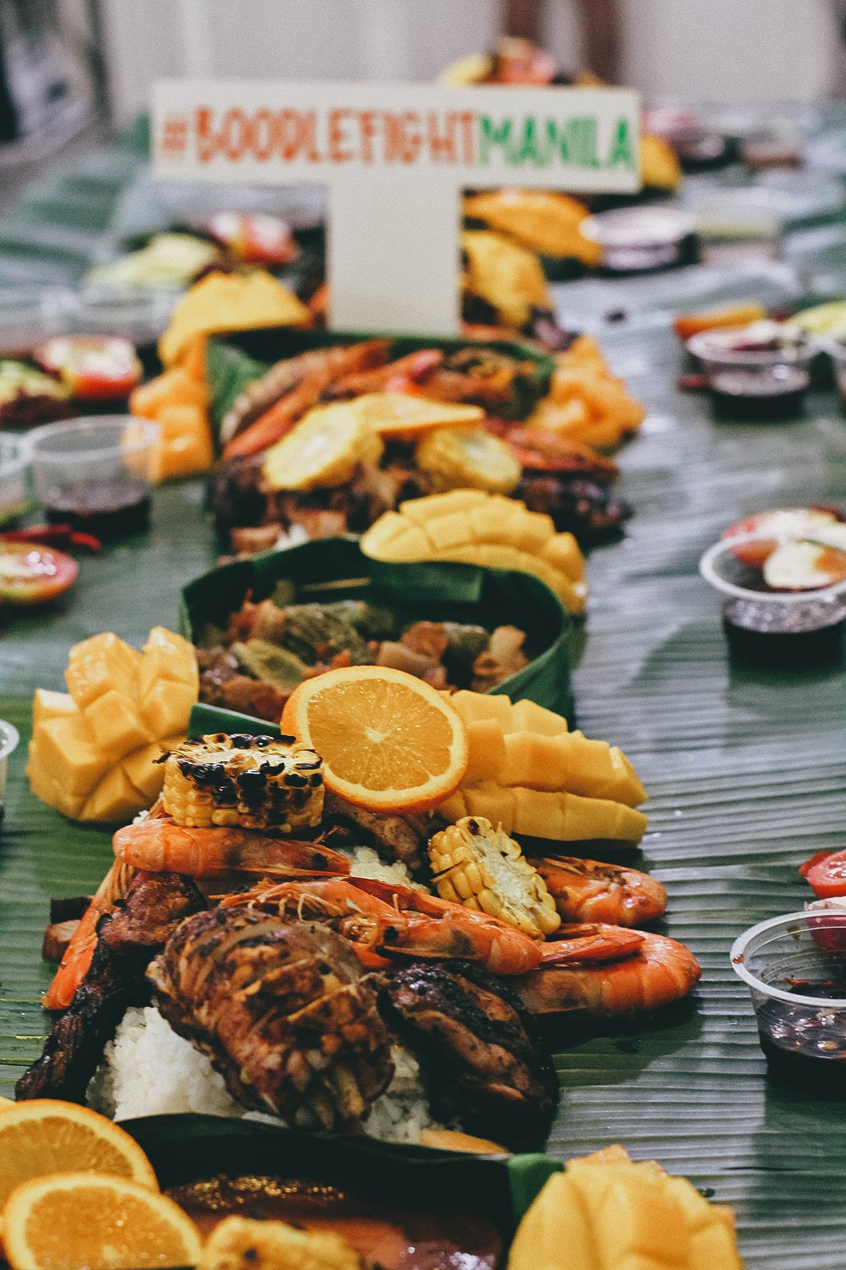 Boodle Fight Manila