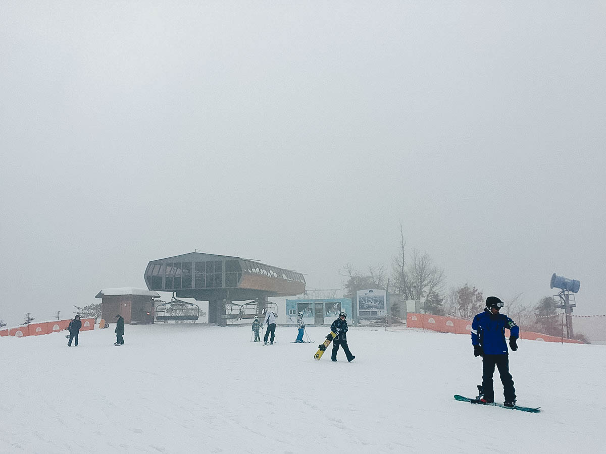 Oak Valley Snow Park, Wonju, South Korea
