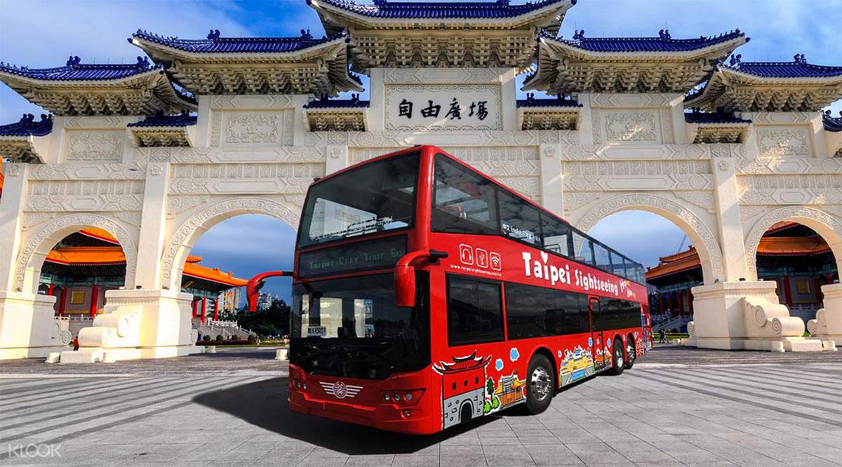 Taipei Hop On Hop Off Bus