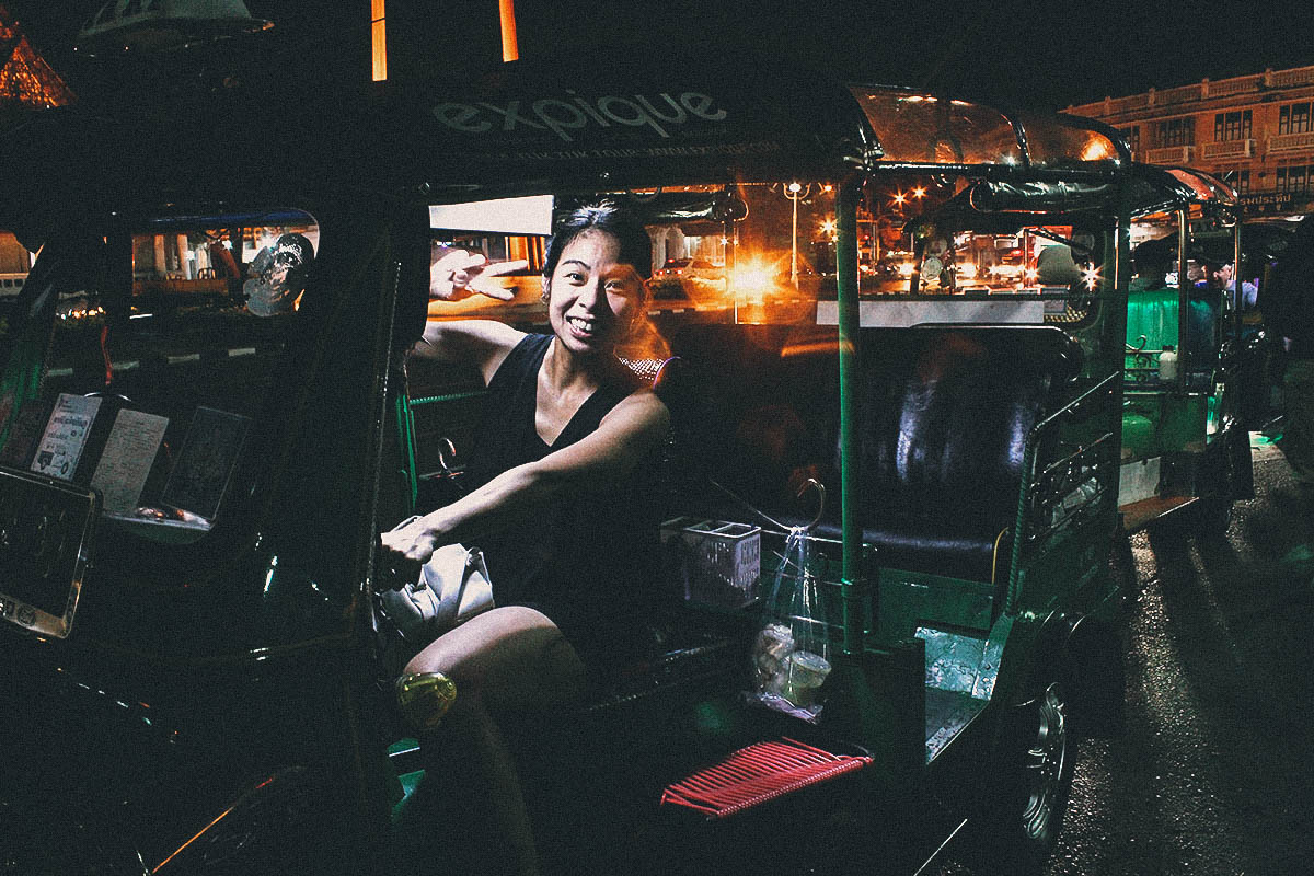 Bangkok, Thailand Tuk-Tuk Night Tour