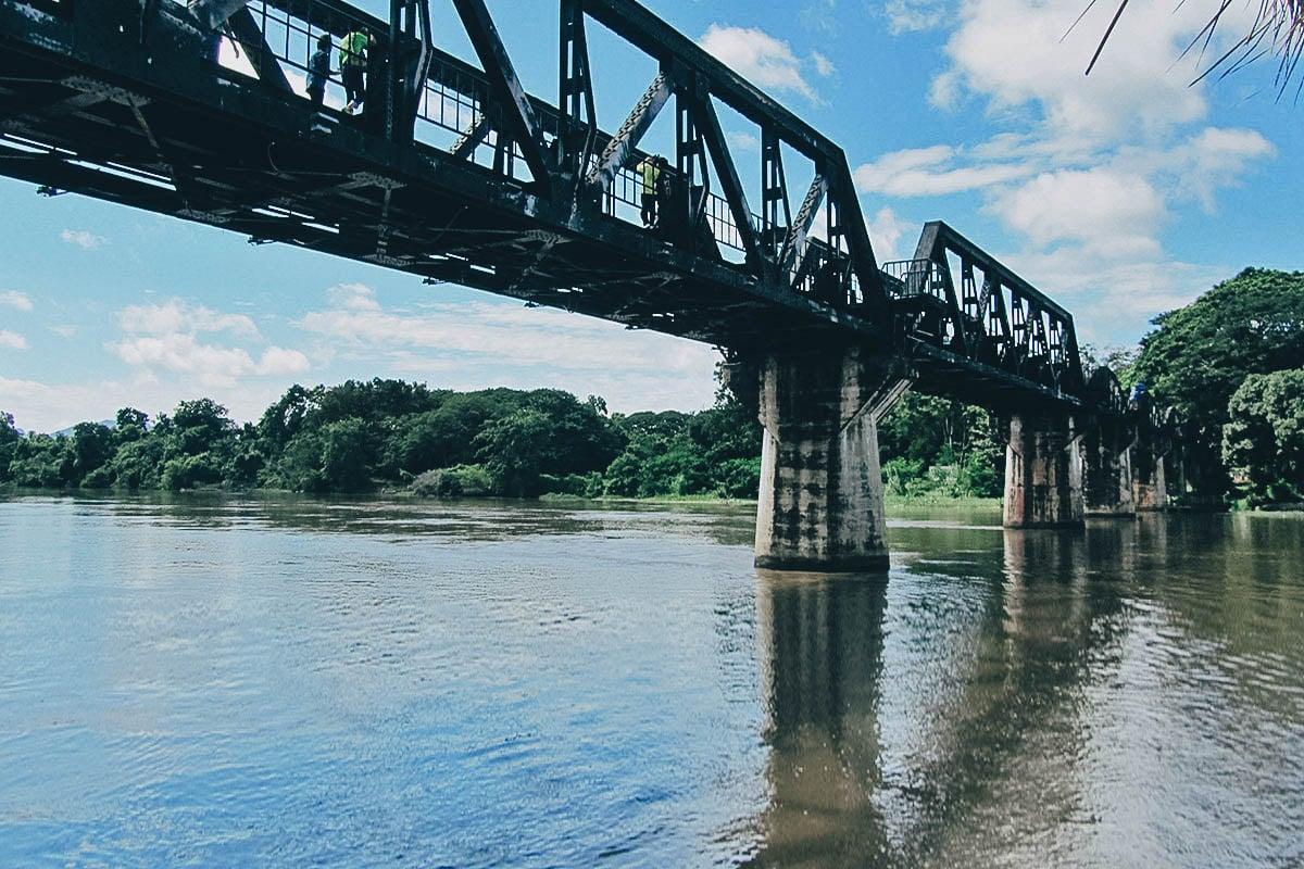 Bridge over River Kwai, Kanchanaburi, Thailand