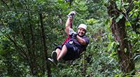 Flight of the Gibbon Jungle Zipline from Pattaya or Bangkok
