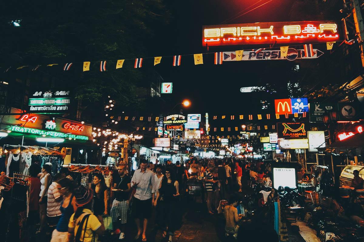 Khasosan Road, Bangkok, Thailand