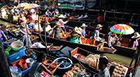 Bangkok Private Car Service: Amphawa Floating Market, Maeklong Railway Market