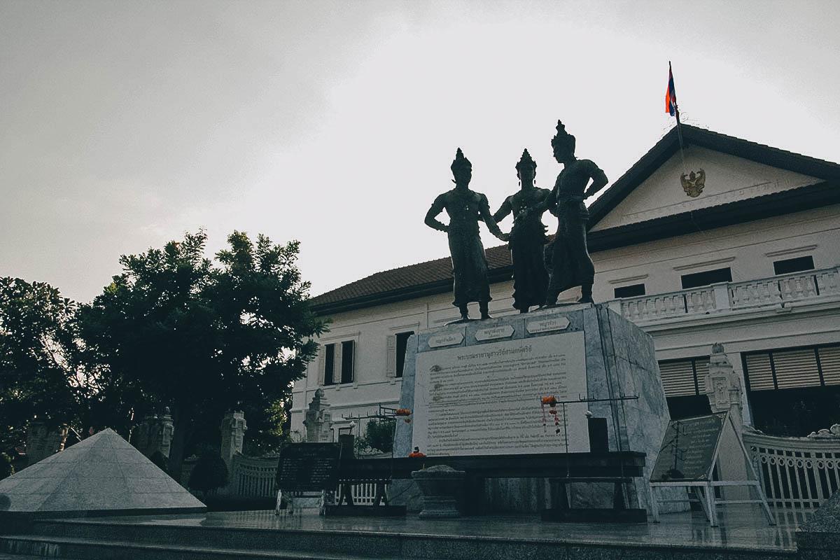 Three Kings Monument Square, Chiang Mai, Thailand