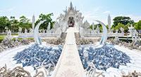 Day Tour From Chiang Mai: Chiang Rai & White Temple