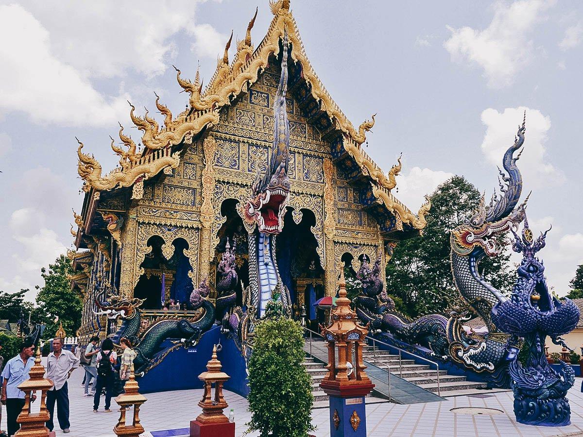 Wat Rong Sear Tean (Blue Temple), Chiang Rai, Thailand