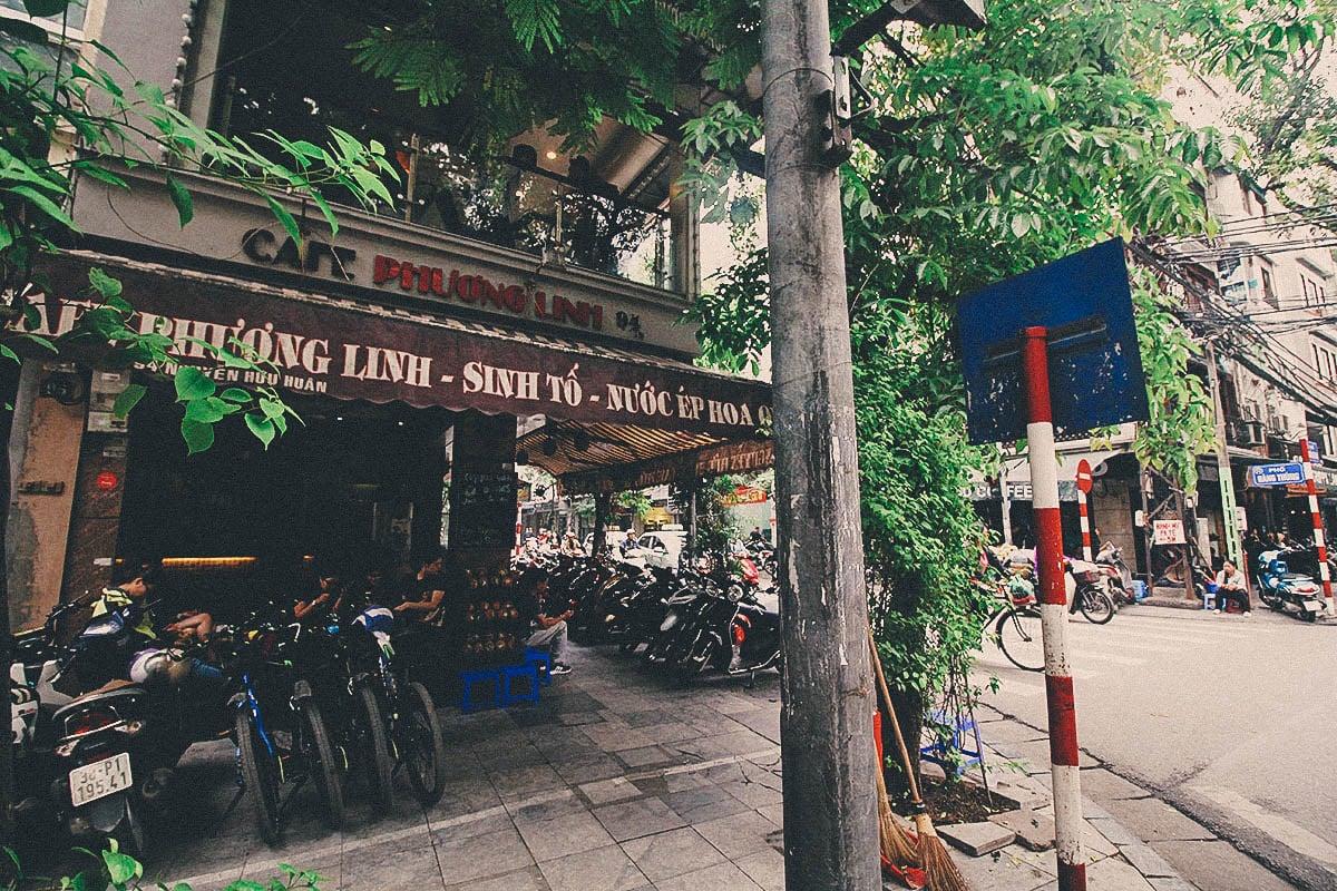 Hanoi Ca Phe Street Food