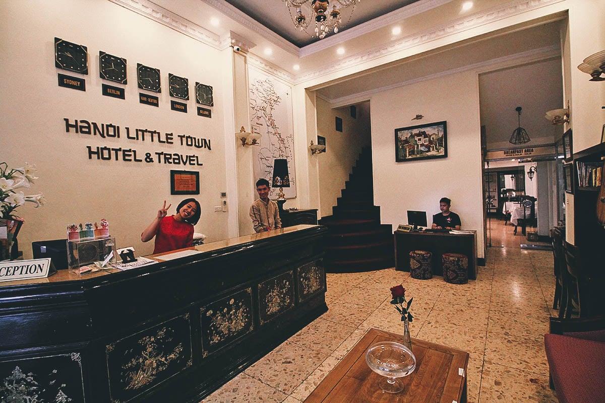 Where to Stay in Hanoi, Vietnam: Hanoi Little Town Hotel
