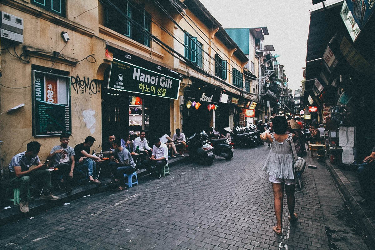 take a stroll in and around hanoi�s old quarter in vietnam