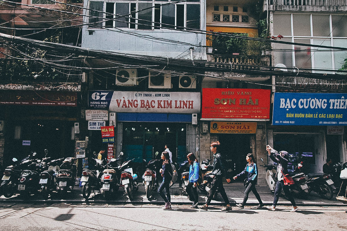 Vang Bac Kim Linh, Hanoi, Vietnam