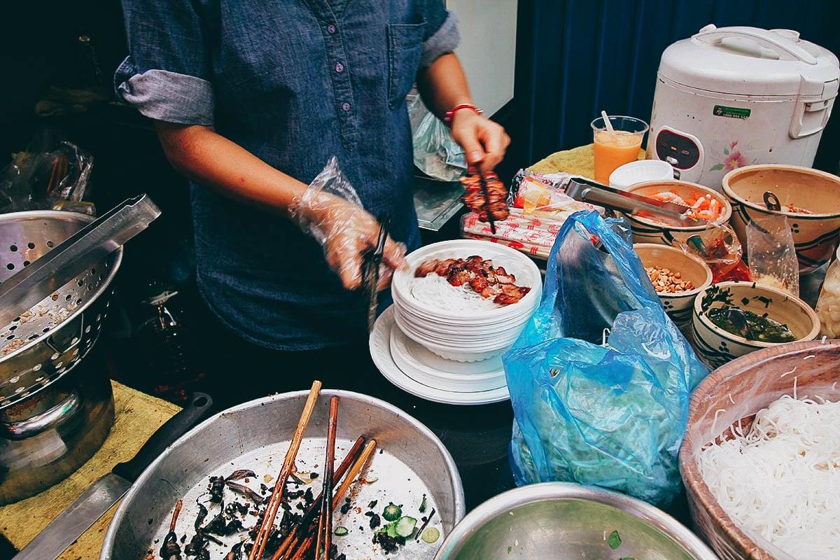 Ben Thanh Street Food Market, Ho Chi Minh City (Saigon), Vietnam