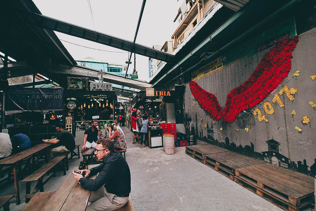 Ben Thanh Street Food Market A Trendy Food Hall In Ho Chi