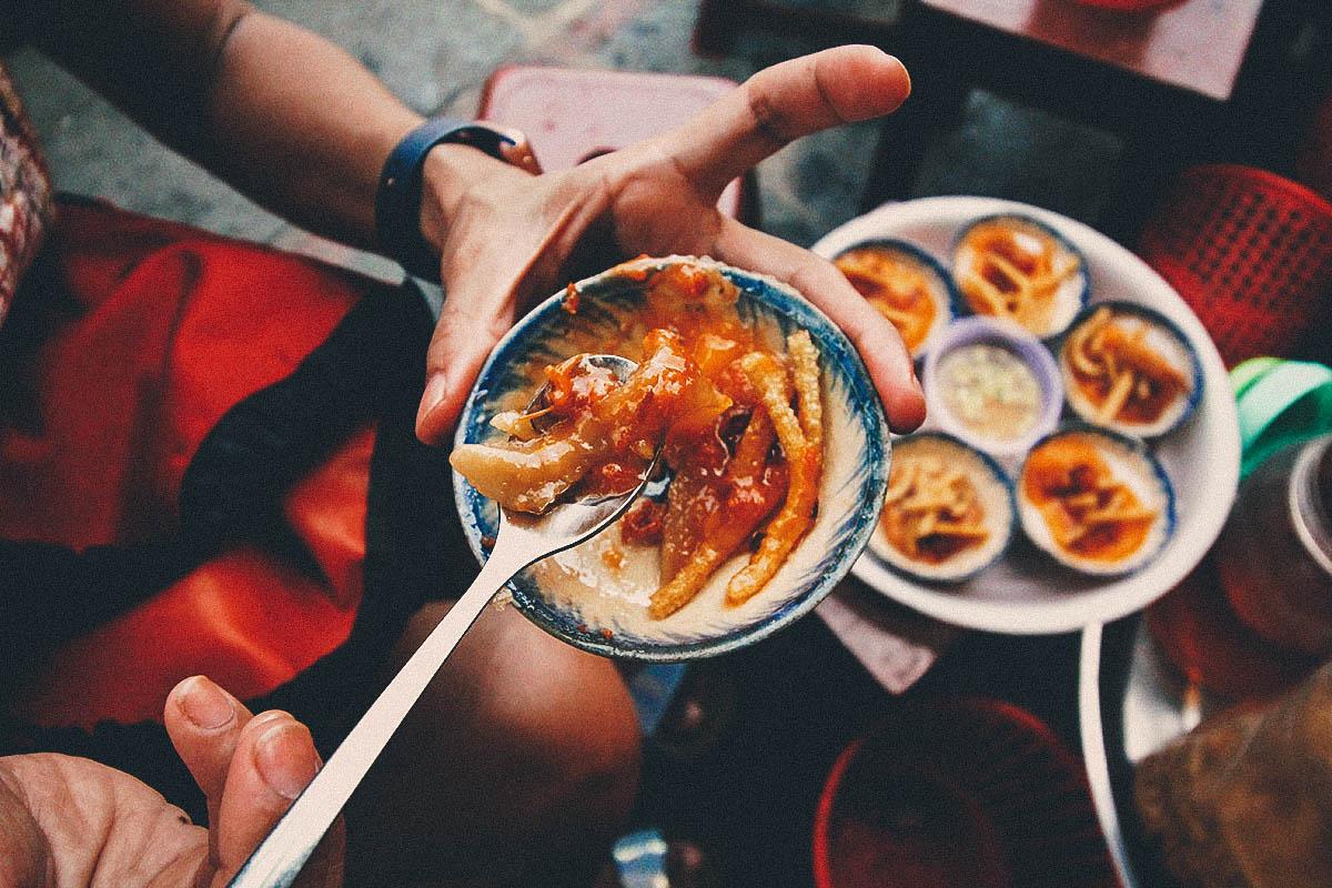 Aunt Bay's Banh Beo, Hoi An, Vietnam
