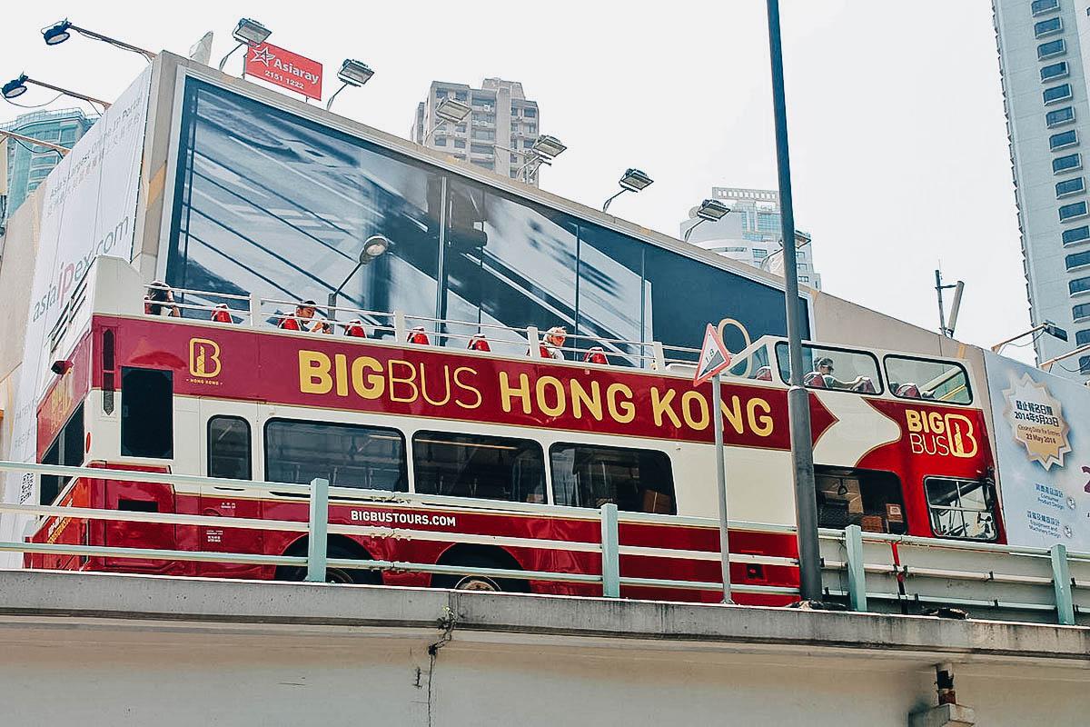 Big Bus Tour, Hong Kong