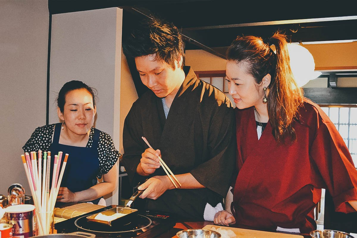 Cooking Class, Kyoto, Japan