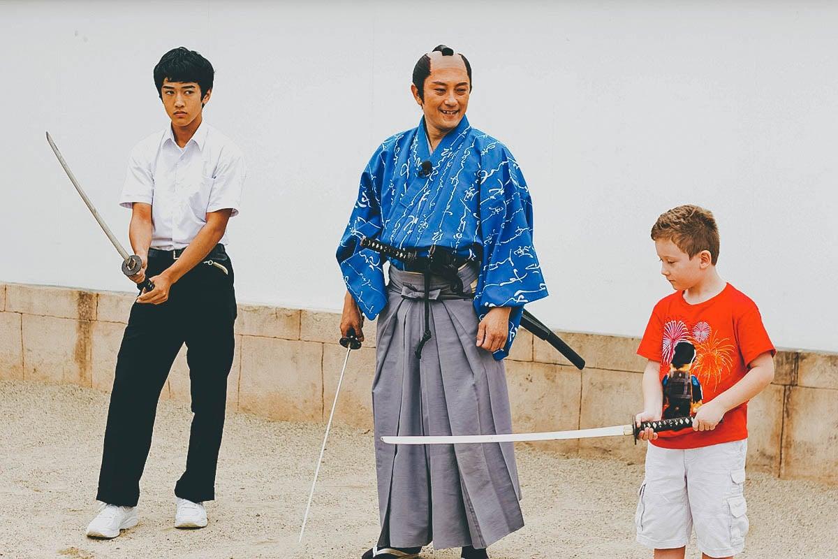 Samurai Experience, Kyoto, Japan