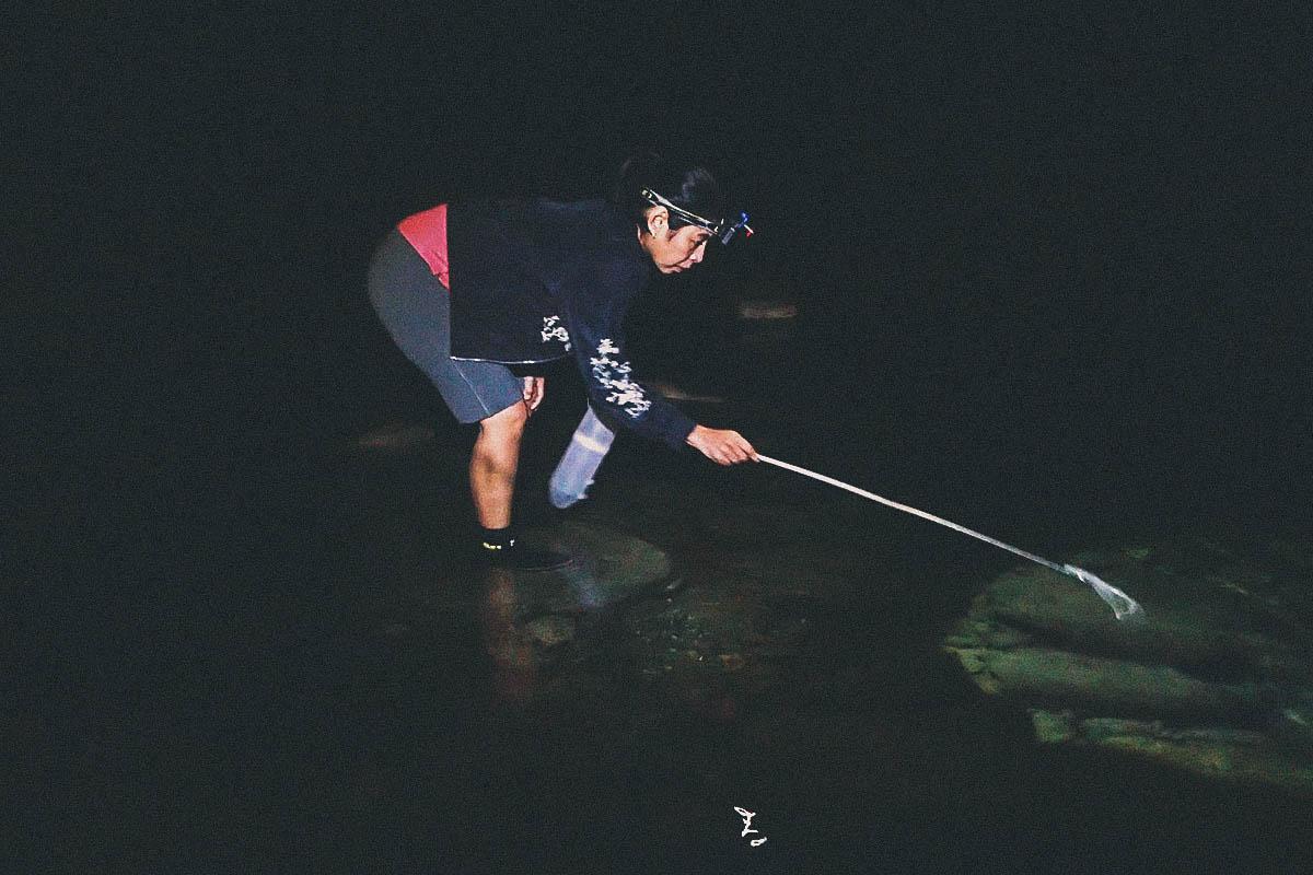 River Shrimping, Hualien County, Taiwan