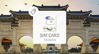 Taiwan Unlimited 4G Pre-Paid SIM Card