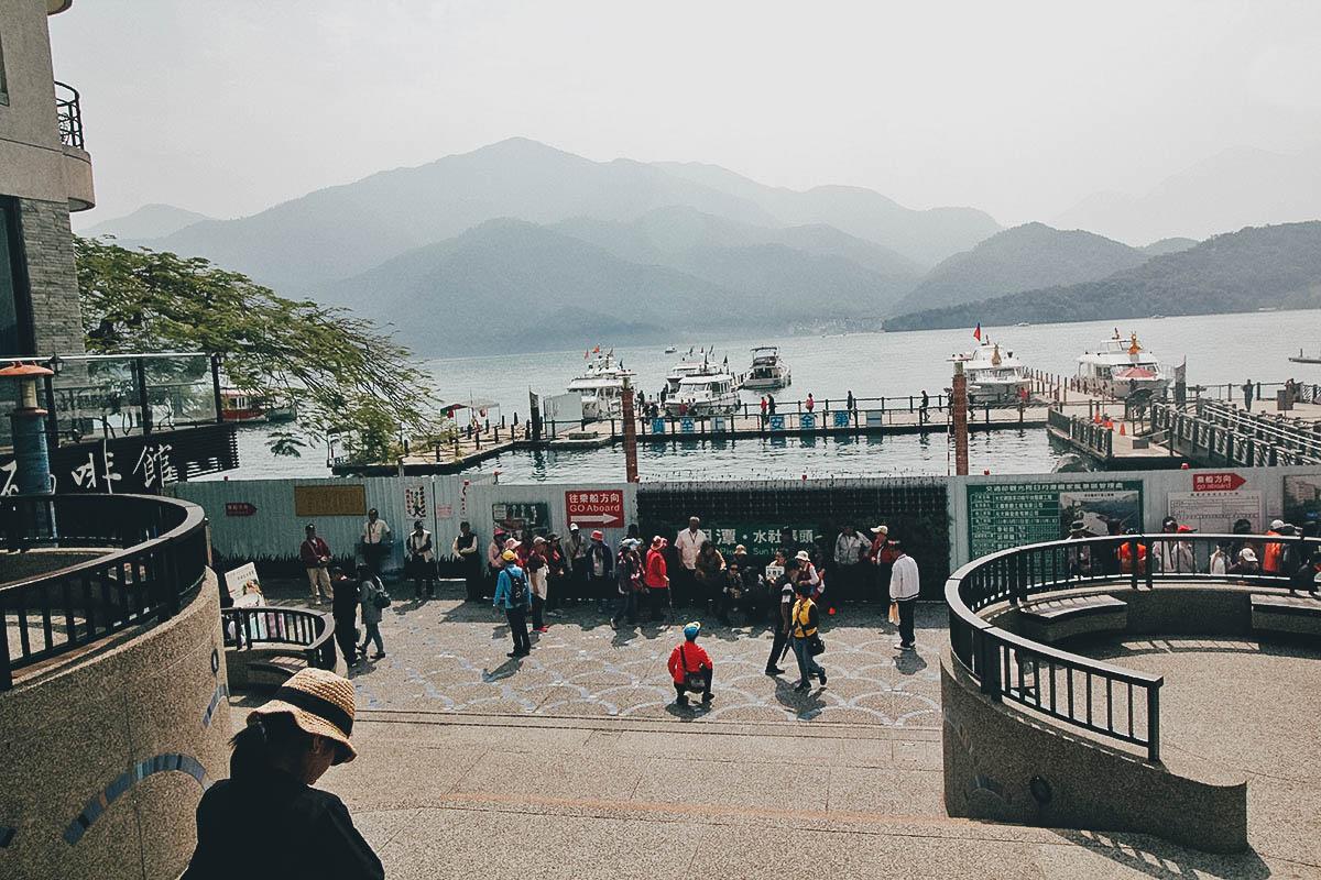 Shuishe Pier, Sun Moon Lake, Nantou County, Taiwan