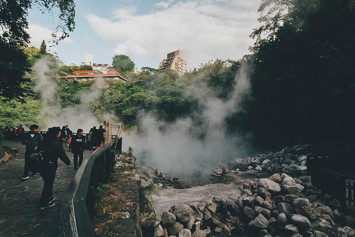 Thermal (Hell) Valley, Beitou, Taipei, Taiwan
