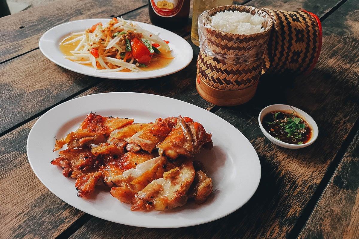 Cherng Doi Roast Chicken, Chiang Mai, Thailand
