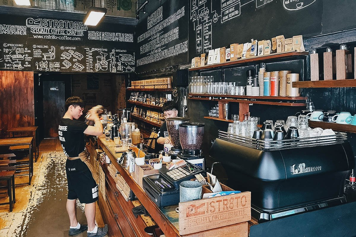 Ristr8to Coffee, Chiang Mai, Thailand