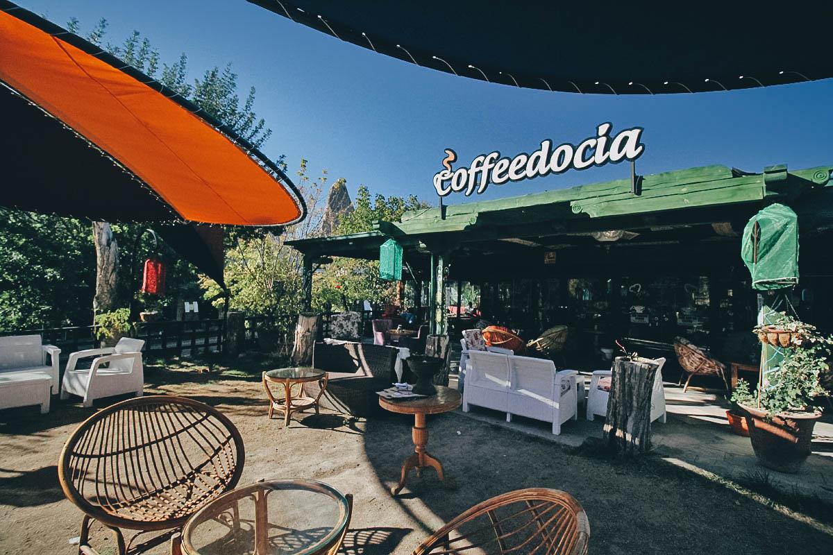 Coffeedocia, Cappadocia, Turkey