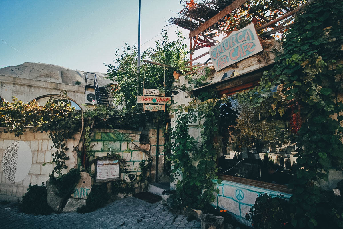 Omurca Art Cave Cafe, Cappadocia, Turkey