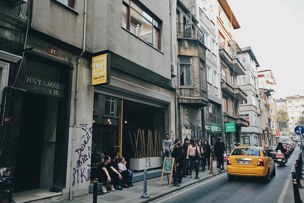 Walter's Coffee Roastery, Istanbul, Turkey