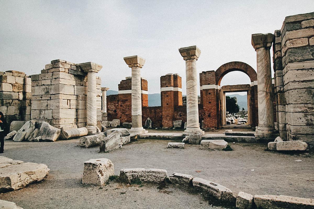 Basilica of St. John & İsabey Mosque, Selçuk, Turkey