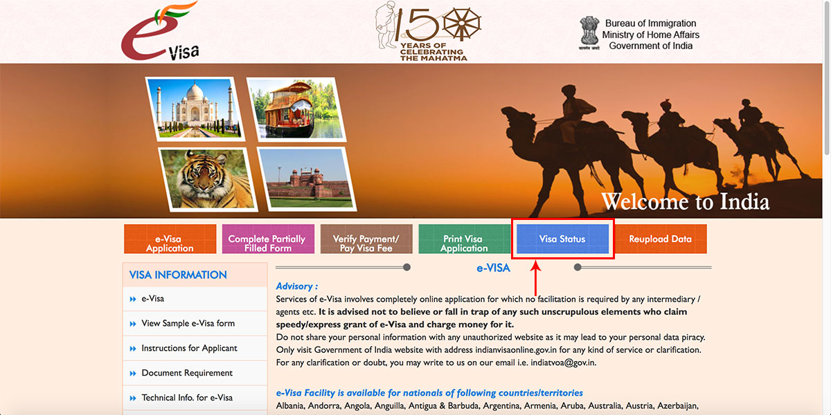 How to Apply for an e-Visa to India