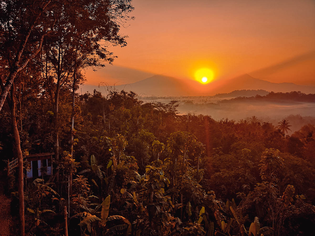 Barede Hill, Yogyakarta, Indonesia