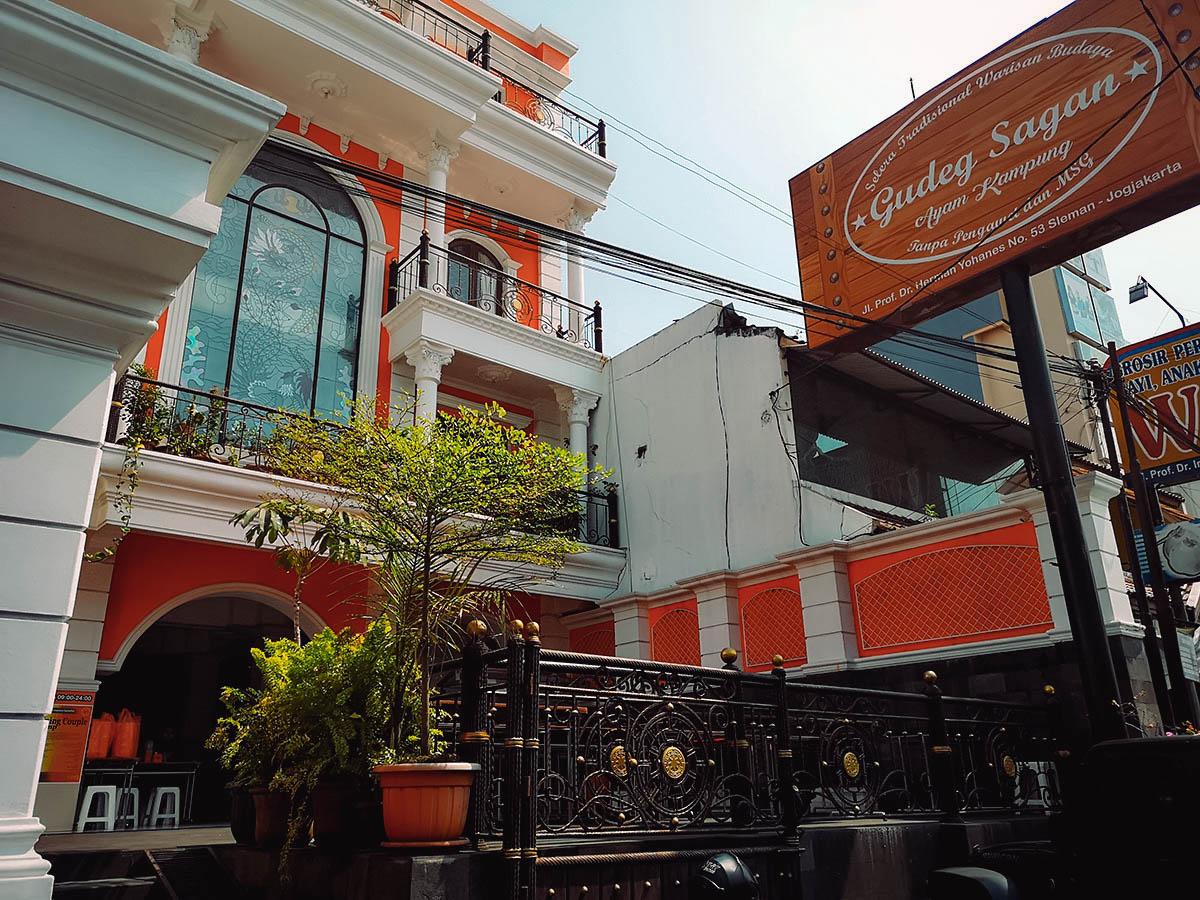Gudeg Sagan, Yogyakarta, Indonesia