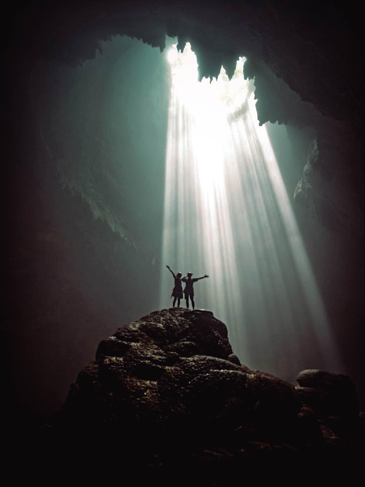 Jomblang Cave, Yogyakarta, Indonesia