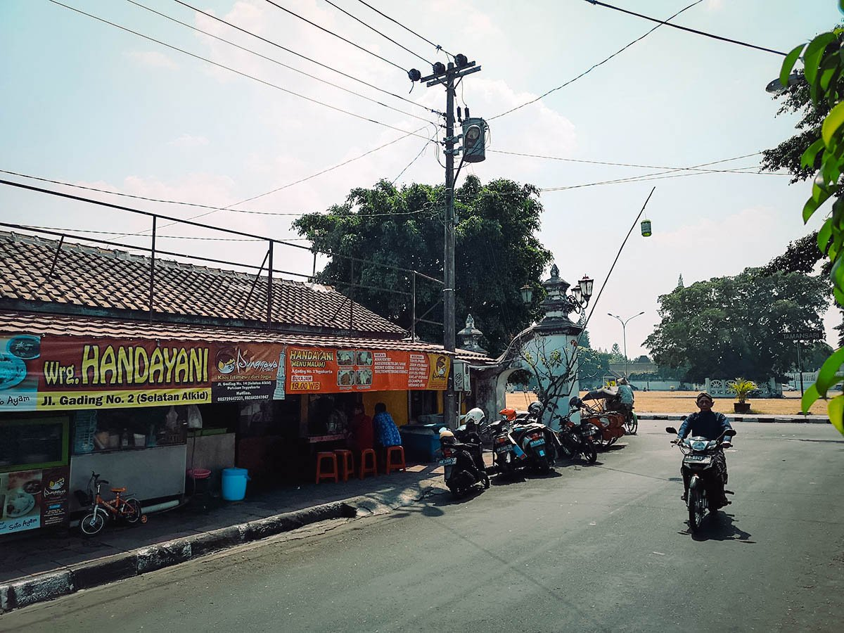 Warung Brongkos Handayani, Yogyakarta, Indonesia