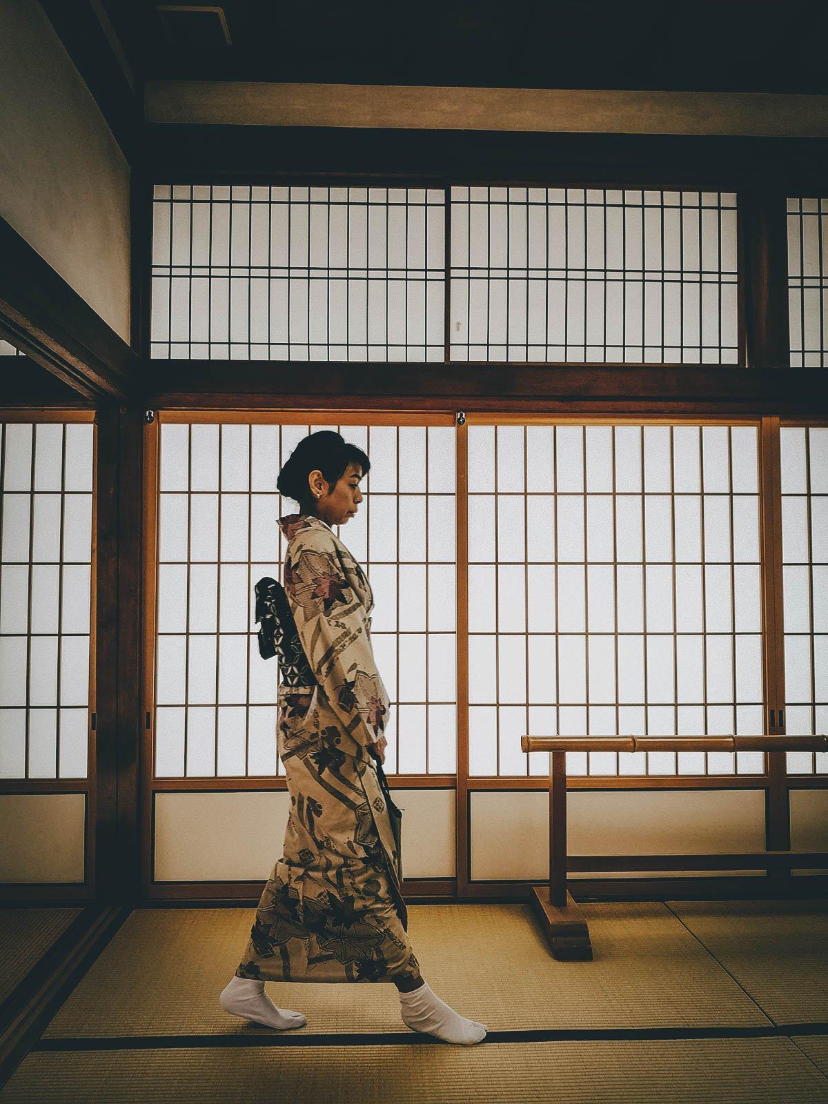 Kimono Rental, Kyoto, Japan