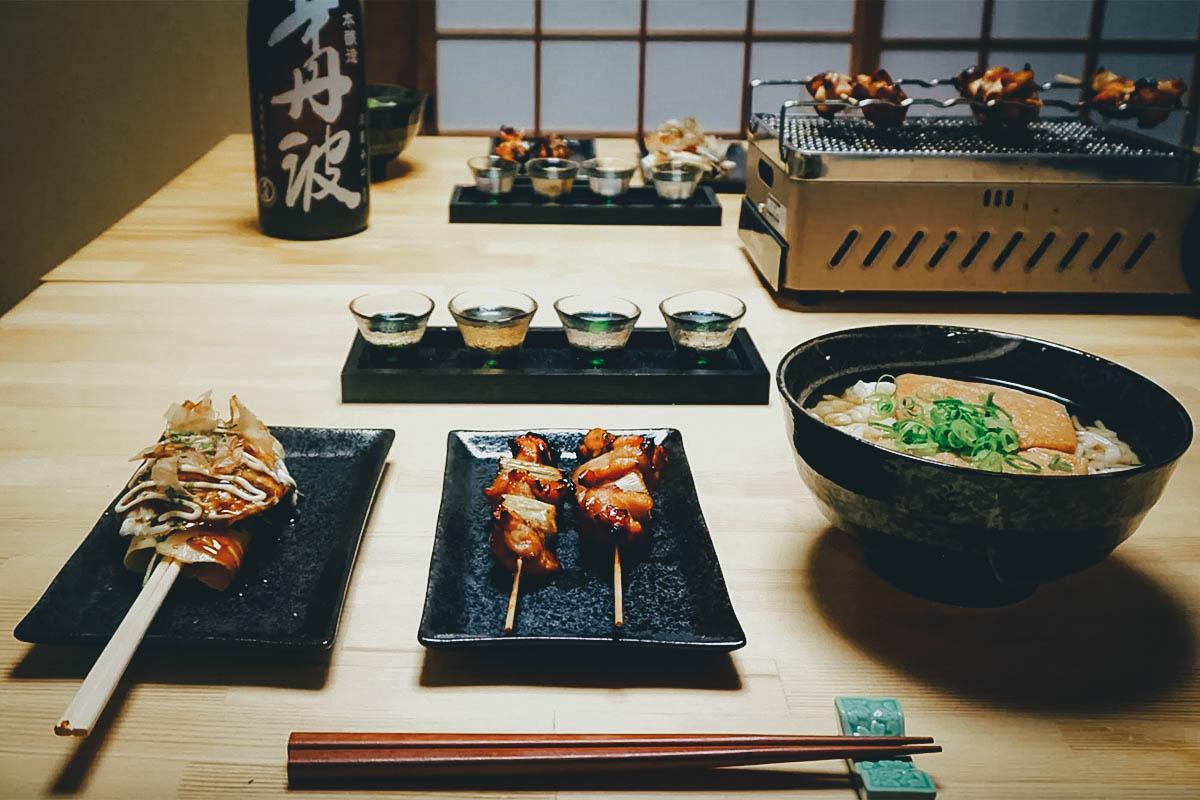 Cooking Class, Osaka, Japan