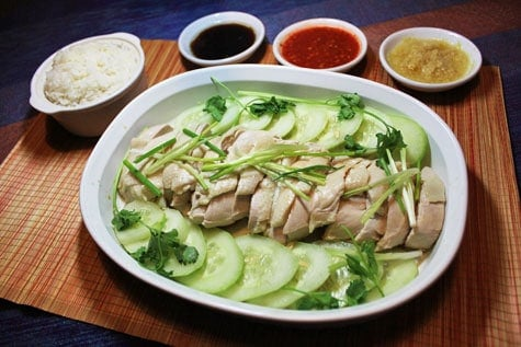 Hainanese Chicken Rice‏