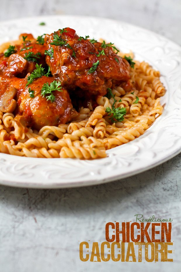Chicken Cacciatore, by the Hunter's Wife