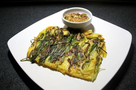Galibi Pajeon (Scallop Green Onion Pancake)