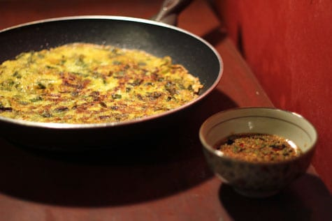 Yachaejeon (Vegetable Pancake)