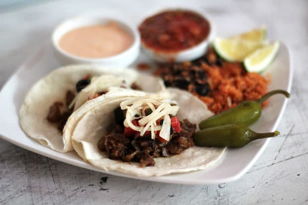 Oxtail Tacos